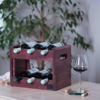 Ящик для хранения вина. Стеллаж для бутылок Marsan.