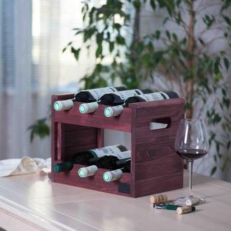 Ящик для зберігання вина. Стелаж для пляшок Marsan.