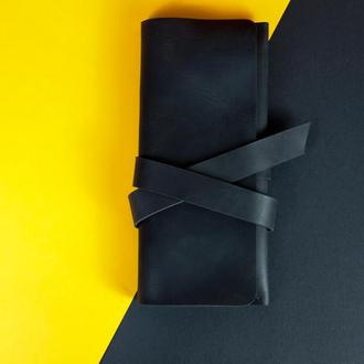 Кожаный кошелек Закрутка с Натуральной кожи