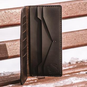Long wallet. Высокий вместительный кошелек