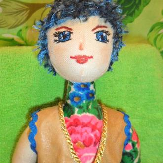 Интерьерная кукла Василек