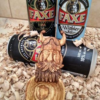 Деревянная ложка викинг. Spoon viking. Ложка из дерева.