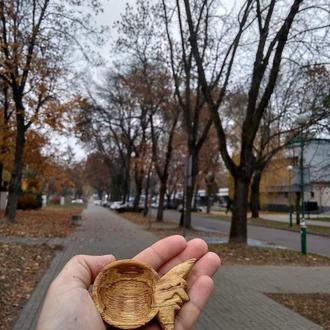 """Деревянная ложка из дерева """"волшебный месяц"""". Wooden spoon. Деревянная ложка.."""