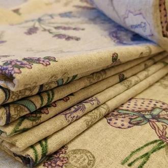 Набор лавандовых полотенец для кухни
