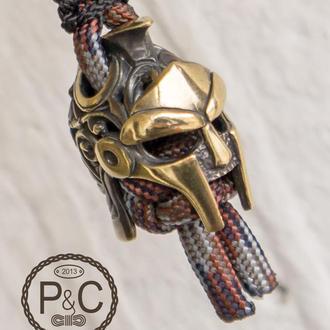 Брелок Спартанец для ножа, на ключницу