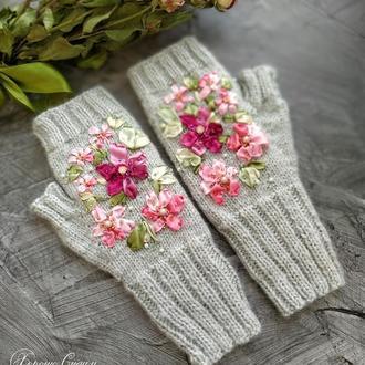 Митенки «Весенний цвет»