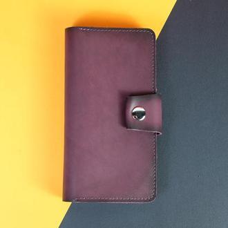 Кожаный кошелек Нова