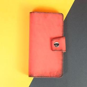 Шкіряний гаманець Нова