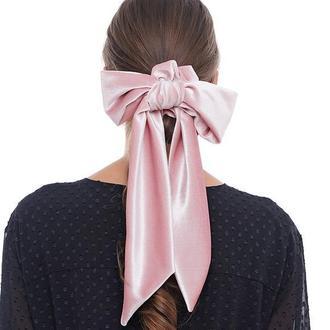 Бархатная лента Твилли + резинка для волос
