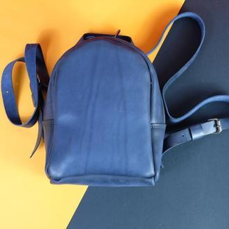 Кожаный рюкзак Колибри
