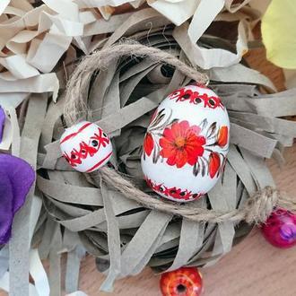Пасхальное деревянное яйцо