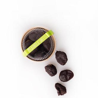 Сухофрукты в шоколаде без сахара (курага и чернослив с орехом)