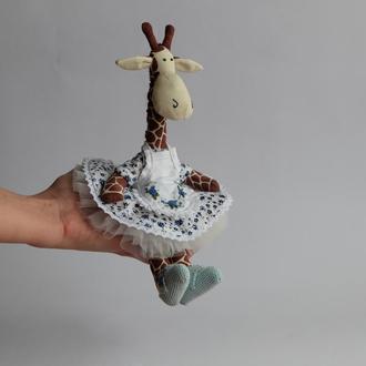 Текстильний жираф