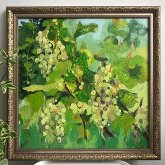 Зелений виноград