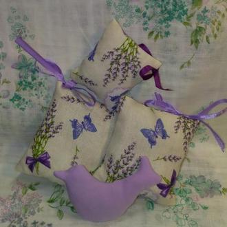 Набор подушечки  с лавандою Саше