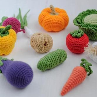 Набор Вязаные овощи