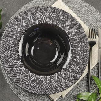 Керамическая тарелка для пасты