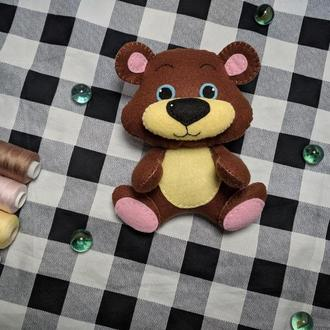 Мягкая игрушка Мишка из фетра