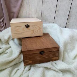 Деревянный бокс, ящик, шкатулка,коробка для подарка