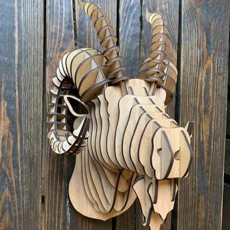 Трофей голова Барана из фанеры