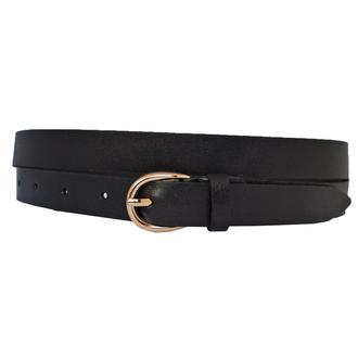 Premium20b5 женский кожаный черный узкий ремень пояс натуральная кожа кожанный