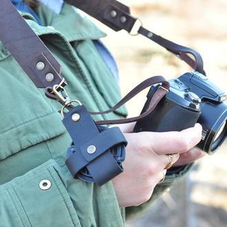Стильный, регулируемый Ремень для фотоаппарата из  итальянской кожи