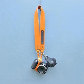 Ремень для фотографа -  из натуральной кожи