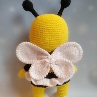 Пчелка,вязаная игрушка