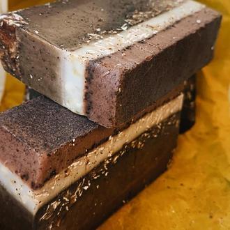 Антицеллюлитное мыло овсянка-шоколад