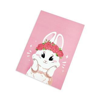 Блокнот Кролик розовый