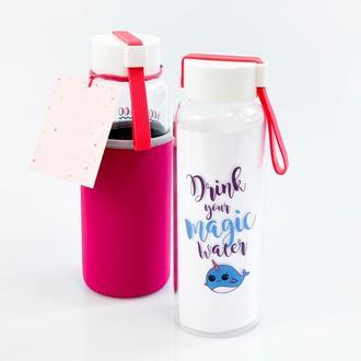 Бутылка Рыбка 450 мл розовый