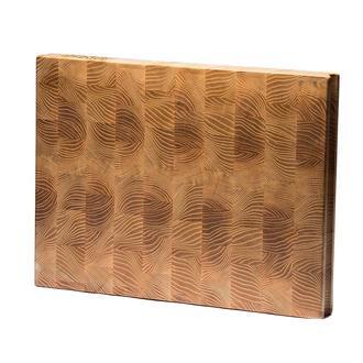 Торцевая разделочная доска Natur Wood ( 400 x 300 x 40 мм)