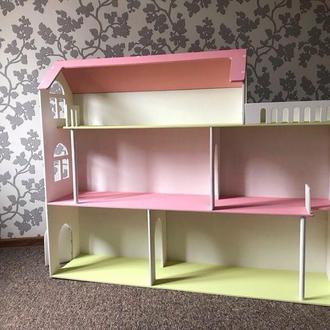Стеллаж в детскую домик