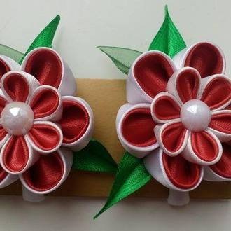 резиночки канзаши для малышки