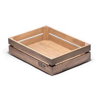 Ящик из натурального дерева (400 х 300 х 110 мм)