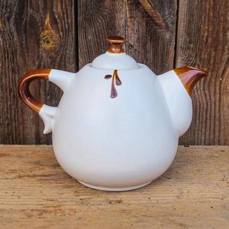 Чайник Капля 800 мл., белый