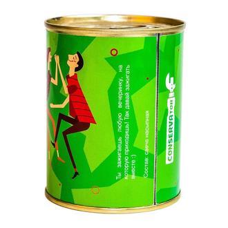 Консерва-свеча Камон бейби лайт май фаер зеленый