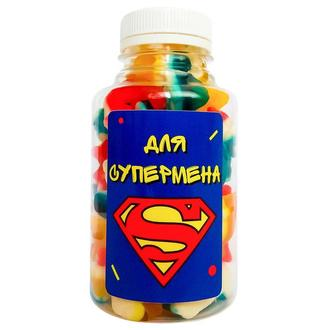 Конфеты Для супермена синий