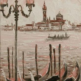 """картина маслом """"Романтична Венеція"""""""