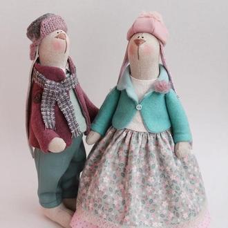 Пара зайчиков «Весенние Романтики»