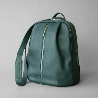 Monik Leather Backpack green (артикул: w062.1)