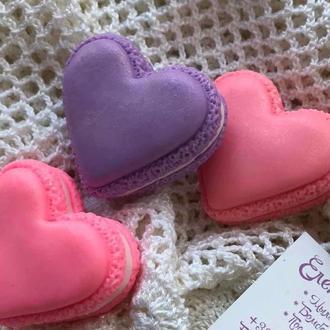 Мыло «Сердце-макарон»