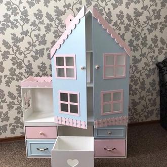 Кукольный дом премиум стеллаж