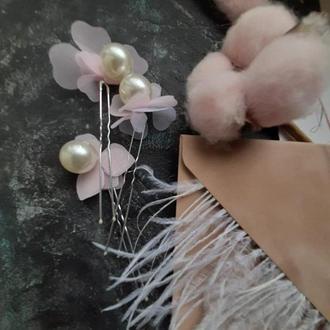 Шпильки для волос украшение для невесты