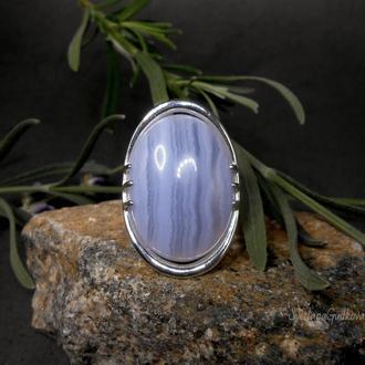 Серебряное кольцо с сапфирином. РЕЗЕРВ.