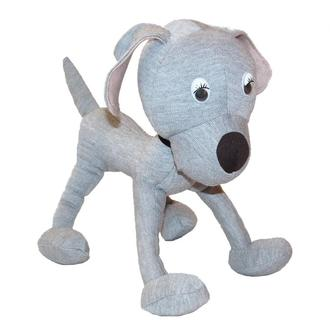 Авторская мягкая игрушка собачка Trizorik