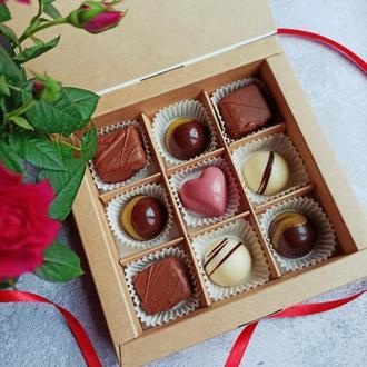 Шоколадные конфеты, 9 шт.