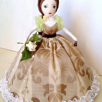 Грелка на чайник Текстильная кукла