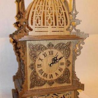 """Каминные часы """"Башня"""""""