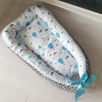 Кокон для ребенка (гнездышко, бебинест) Baloons
